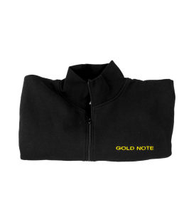 Gold Note Logo Sweatshirt front zip