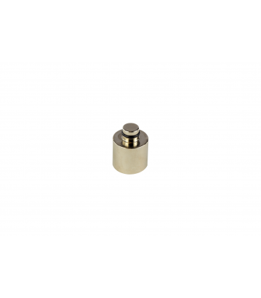 Tone-Arm chromed brass extra weight for setting different higher weight cartridges