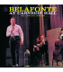 HARRY BELAFONTE - Live at Carnegie Hall - Double CD