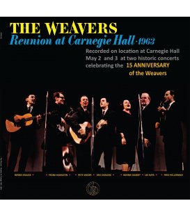 THE WEAVERS - Reunion at Carnegie Hall - 180gram Vinyl